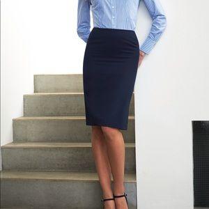 Cabi navy blue skirt size 6